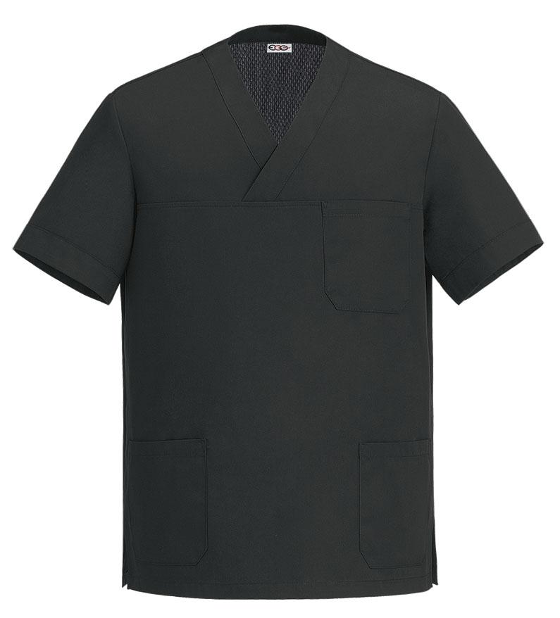 Levně Kuchařská košile s krátkým rukávem COOL - černá XXL