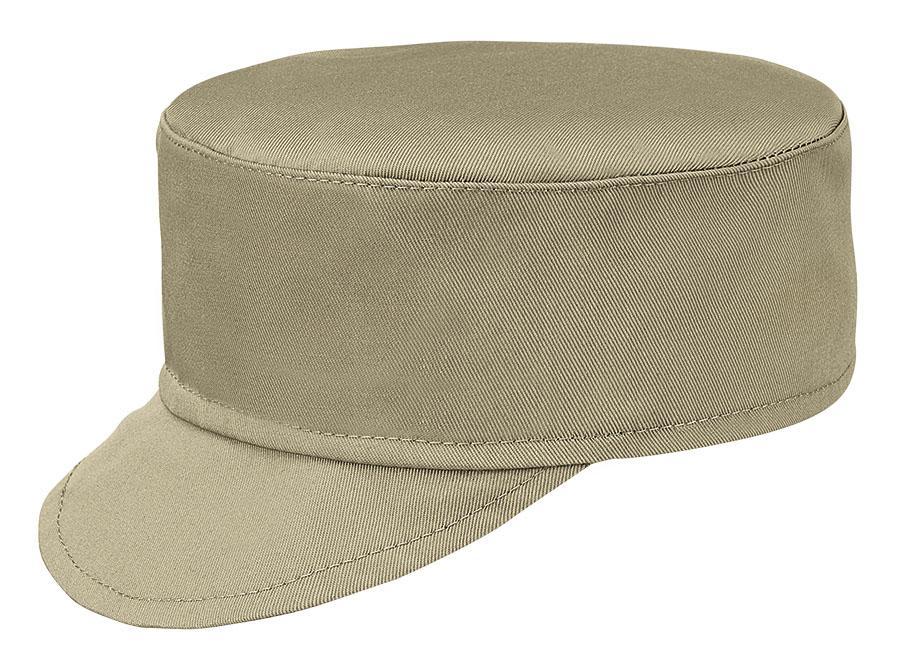 Kuchařská čepice s kšiltem - béžová