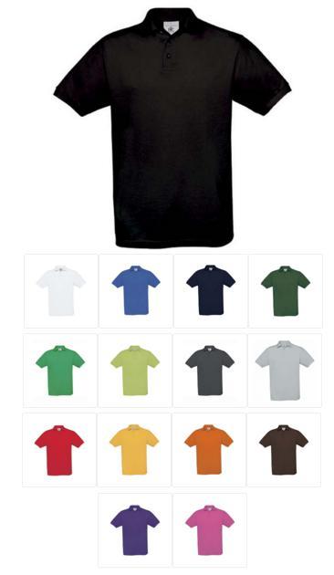 Levně Pánská polokošile 100% bavlna - různé barvy černá,XXL