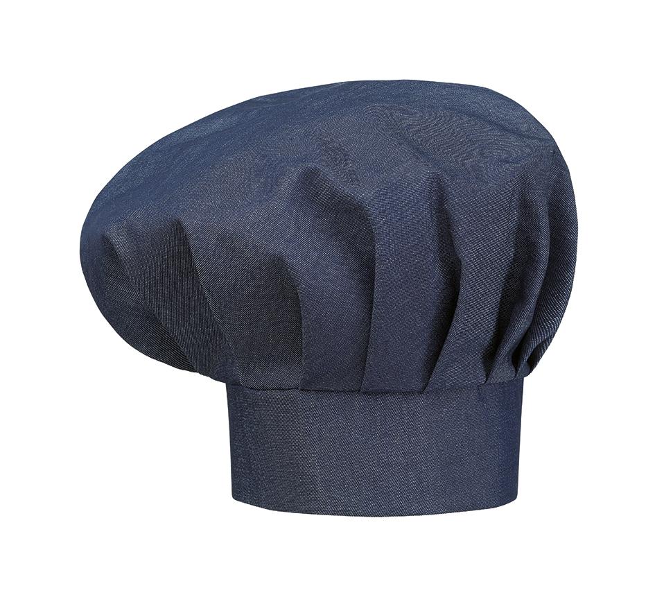 Vysoká kuchařská čepice - JEANS